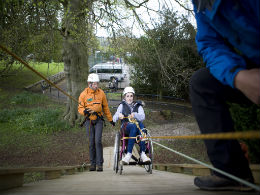 accessible abseil