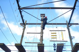 High ropes activities